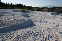 Pamukkale travertines Stock Photography