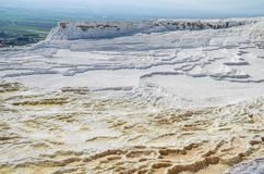 Pamukkale travertines Stock Images