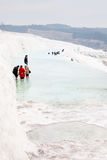 Pamukkale Travertines Stock Image