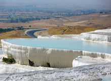 Pamukkale Turkey Royalty Free Stock Images