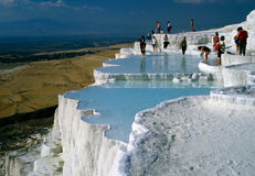 Pamukkale, Turkey Royalty Free Stock Photos