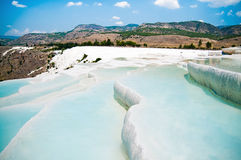 Pamukkale in Turkey Stock Photography