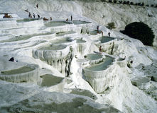 Pamukkale,Turkey Stock Photography