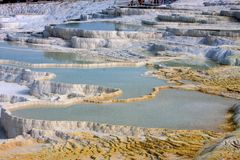 Pamukkale Turkey Royalty Free Stock Photo