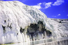 Pamukkale  in Turkey. Royalty Free Stock Images