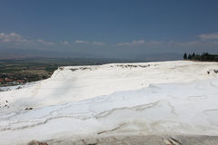 Pamukkale in Turkey Royalty Free Stock Photo