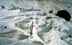 Pamukkale, Turkey royalty free stock image