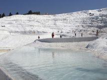 Pamukkale, Turkey Royalty Free Stock Photography