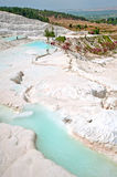 Pamukkale in Turkey Royalty Free Stock Photography