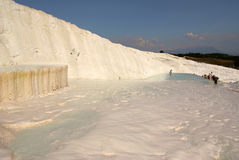Pamukkale, Turkey in summer day Royalty Free Stock Image