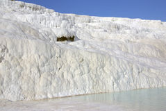 Pamukkale, Turkey in summer day Stock Image