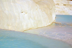 Pamukkale, Turkey in summer day Royalty Free Stock Images