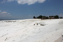 Pamukkale in Turkey Stock Image