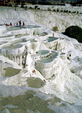 Pamukkale Turkiet Arkivbilder