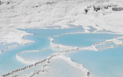 Pamukkale in Turkish Royalty Free Stock Photo