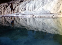 Pamukkale, Turley Stock Photo