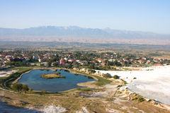 Pamukkale, Turquía Imagenes de archivo