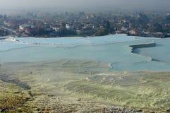 Pamukkale Turquía Imagenes de archivo