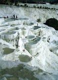 Pamukkale, Turquía Imagen de archivo