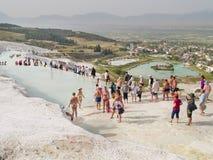 Pamukkale, Turquia Imagens de Stock Royalty Free