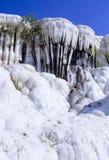 Pamukkale White Landscape Turkey Royalty Free Stock Image