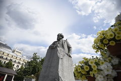 Pamyatnik Karlu Marksu卡尔・马克思 库存图片