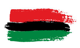 Pan-african flag Stock Images