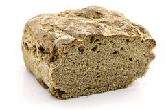 Pan aislado en blanco Fotos de archivo libres de regalías