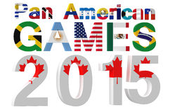 Pan American Games 2015 illustration de vecteur
