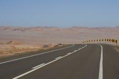 Pan American Highway Chile Royaltyfria Bilder