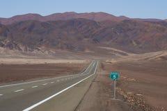 Pan American Highway Chile Fotografering för Bildbyråer