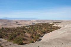Pan American Highway en Chile septentrional Imagenes de archivo