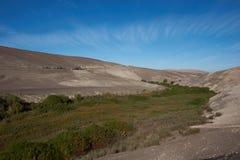 Pan American Highway en Chile septentrional Imagen de archivo