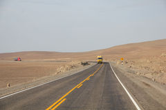 Pan-American Highway near Arequipa, Peru Stock Image