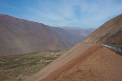Pan American Highway nel Cile del Nord fotografie stock libere da diritti