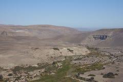 Pan American Highway nel Cile del Nord fotografia stock
