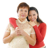 Pan Asian family. Royalty Free Stock Photography