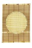 Pan basket on mat Royalty Free Stock Image