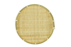 Pan basket on white background. Thailand Royalty Free Stock Image