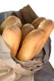 Pan blanco Fotos de archivo libres de regalías