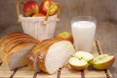 Pan blanco fotos de archivo