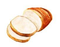Pan blanco imágenes de archivo libres de regalías