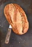 Pan blanco del estilo rural Imagen de archivo libre de regalías