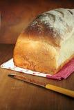 Pan blanco del estilo tradicional Fotografía de archivo