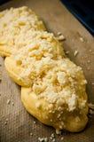Pan blanco dulce hecho en casa Foto de archivo libre de regalías