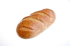 Pan blanco fresco Fotografía de archivo