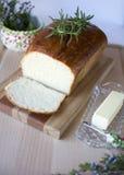 Pan blanco hecho en casa Fotografía de archivo libre de regalías