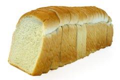Pan blanco rebanado Foto de archivo libre de regalías