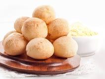 Pan brasileño del queso Imagen de archivo libre de regalías