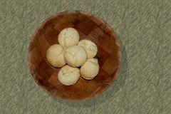 Pan brasileño del queso Foto de archivo